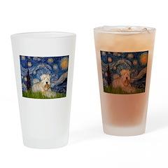 Starry / Wheaten T #1 Drinking Glass