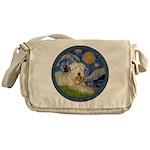Starry / Wheaten (#1W) Messenger Bag