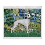 Bridge & Whippet Throw Blanket