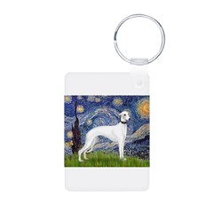 Starry Night / Whippet Keychains