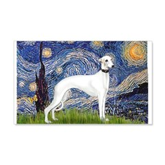 Starry Night / Whippet Wall Decal