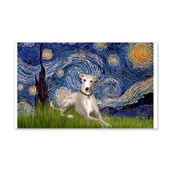 Starry Night Whippet 20x12 Wall Decal