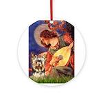 Mandolin Angel / Yorkie (17) Ornament (Round)