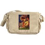 Mandolin Angel / Yorkie (17) Messenger Bag