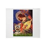 Mandolin Angel / Yorkie (17) Throw Blanket