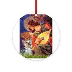 Angel 3 - Yorkshire Terrier Ornament (Round)
