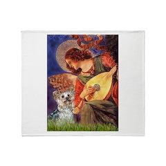 Angel 3 - Yorkshire Terrier Throw Blanket