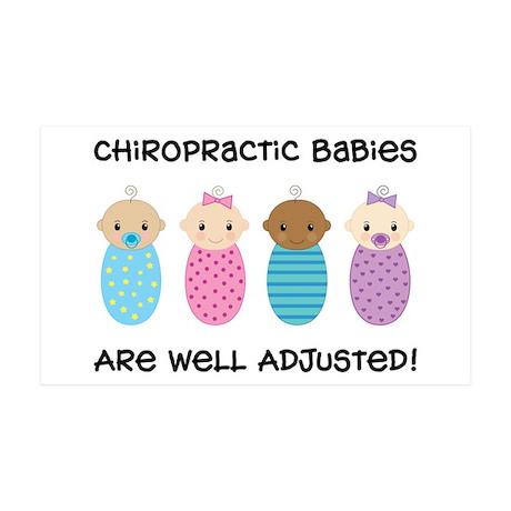 Chiropractic Babies 38.5 x 24.5 Wall Peel