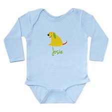 Josie Loves Puppies Long Sleeve Infant Bodysuit