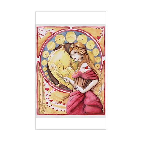Valentine Sticker (Rectangle)