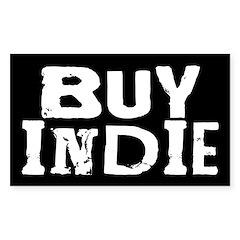 Buy Indie bumper sticker