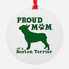 BOSTON TERRIER MOM Ornament