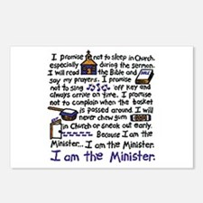 I'm the Minister Postcards (Package of 8)