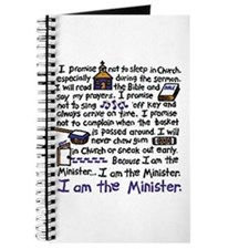 I'm the Minister Journal