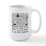 Minister Large Mugs (15 oz)