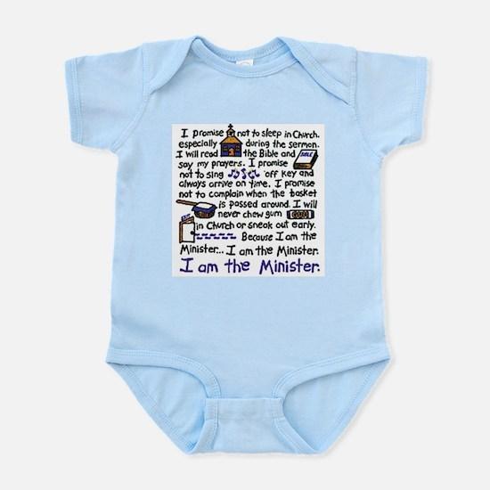 I'm the Minister Infant Bodysuit