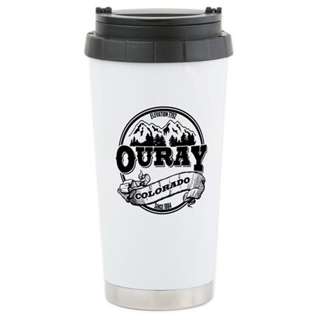 Ouray Old Circle Stainless Steel Travel Mug