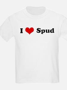 I Love Spud Kids T-Shirt
