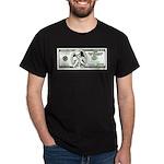 Satirical 100 dollars bill Dark T-Shirt