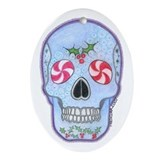 Skull Oval Ornaments