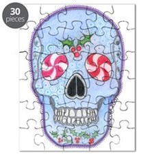 Christmas Skull Puzzle