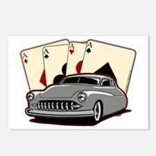 Motor City Lead Sled Postcards (Package of 8)
