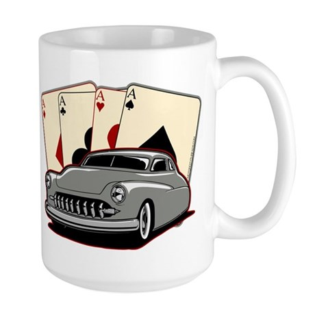 Motor City Lead Sled Large Mug