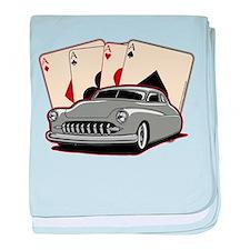 Motor City Lead Sled baby blanket