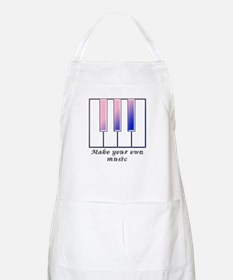 Make your own music BBQ Apron