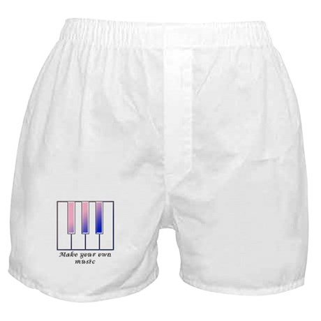 Make your own music Boxer Shorts
