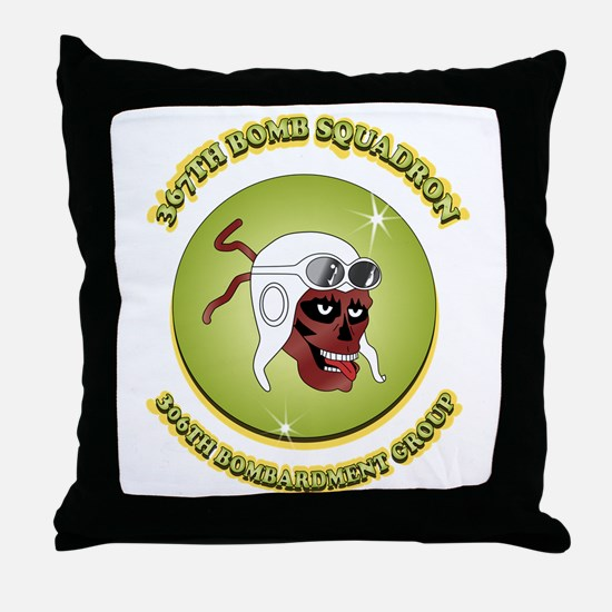 367TH BOMB SQDN. Throw Pillow