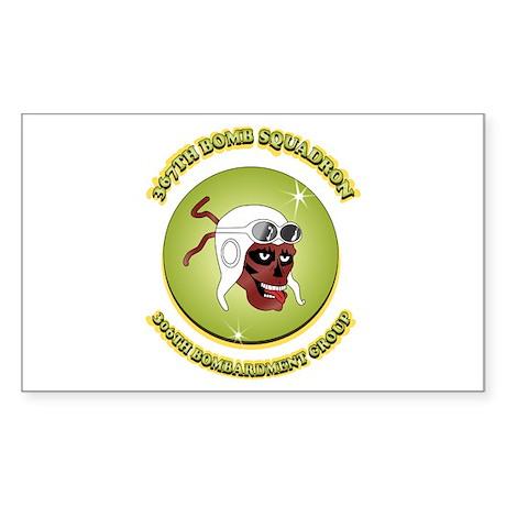367TH BOMB SQDN. Sticker (Rectangle)