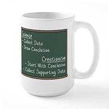 Science vs Creationism Mug
