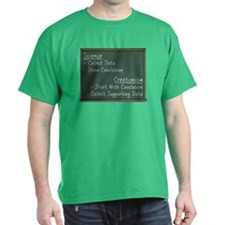 Science vs Creationism T-Shirt