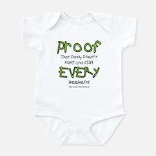 Daddy's Proof Infant Bodysuit