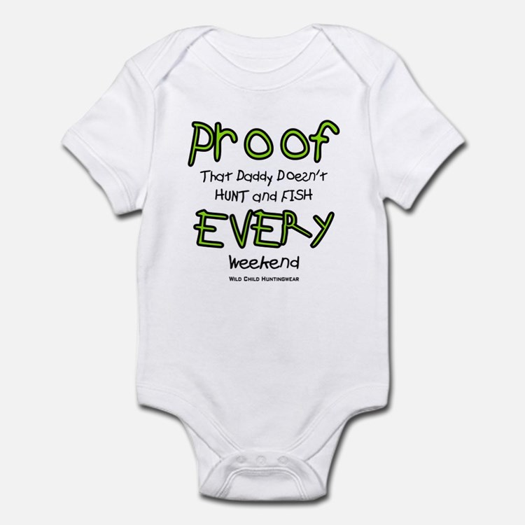 Daddy's Proof Onesie