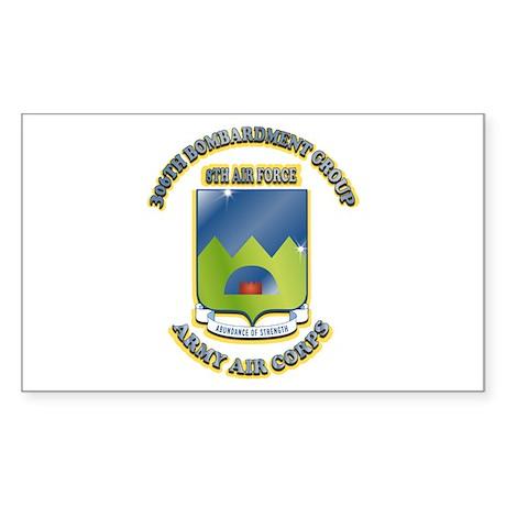306TH BOMB GROUP Sticker (Rectangle 10 pk)