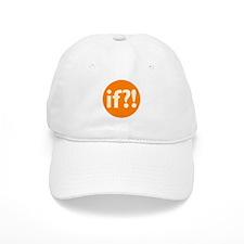 if?! orange/white Cap