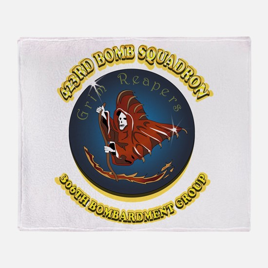 423RD BOMB SQUADRON Throw Blanket