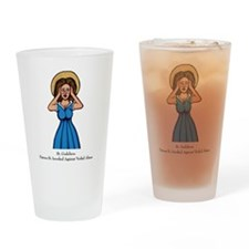 Verbal Abuse Drinking Glass