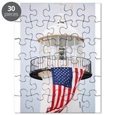 Biloxi Christmas Puzzle-Biloxi Light House