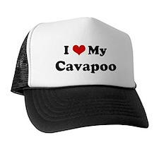 I Love Cavapoo Trucker Hat