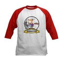 WORLDS GREATEST BARBECUER MEN Kids Baseball Jersey