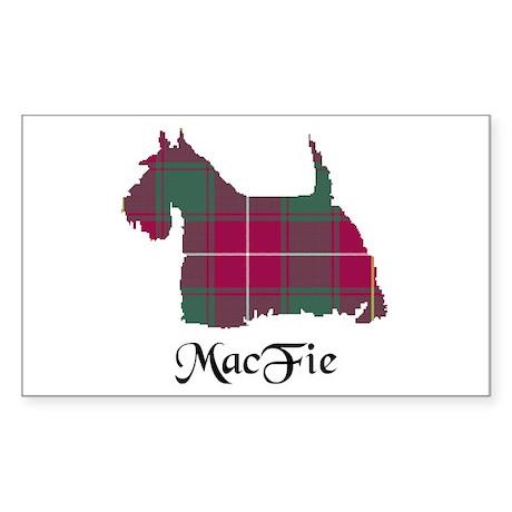 Terrier - MacFie Sticker (Rectangle)