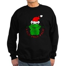 Cartoon Frog Santa Jumper Sweater