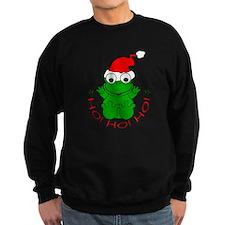 Cartoon Frog Santa Sweatshirt