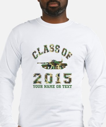 Class Of 2015 Military School Long Sleeve T-Shirt