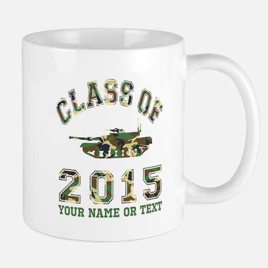 Class Of 2015 Military School Mug