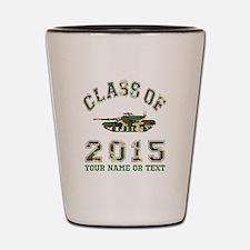 Class Of 2015 Military School Shot Glass