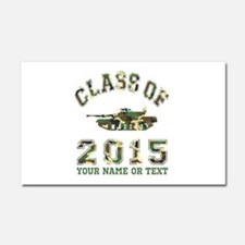 Class Of 2015 Military School Car Magnet 20 x 12